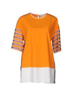 Блузка ALYSI. Цвет: оранжевый