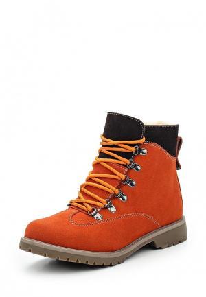 Ботинки Betsy. Цвет: оранжевый