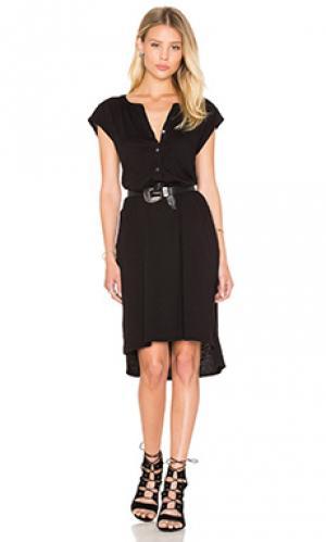 Платье gaugina Velvet by Graham & Spencer. Цвет: черный