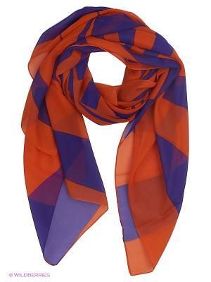 Парео текстильное Vittorio Richi. Цвет: оранжевый, сиреневый