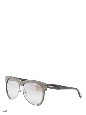 Солнцезащитные очки FT 0365 38G Tom Ford. Цвет: серый