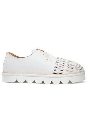Ботинки Bouton. Цвет: белый
