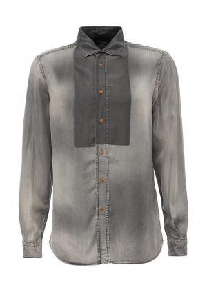 Рубашка Diesel. Цвет: серый