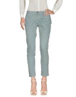 Повседневные брюки TROU AUX BICHES. Цвет: грифельно-синий