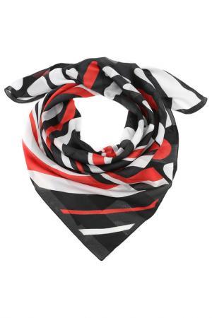 Платок F.FRANTELLI. Цвет: красный, черный, белый