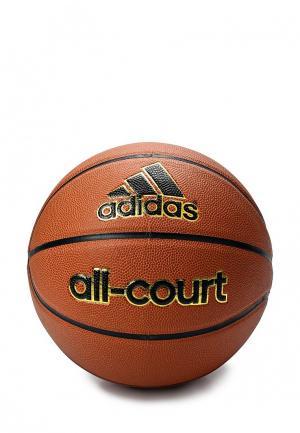 Мяч баскетбольный adidas Performance. Цвет: коричневый