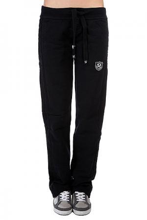 Штаны прямые женские A-One Full Custom Black. Цвет: черный
