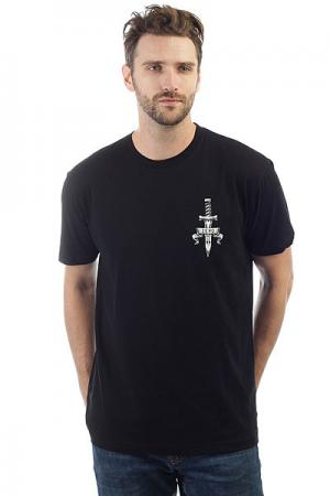 Футболка  Mmvi Dagger Premium Black Zero. Цвет: черный