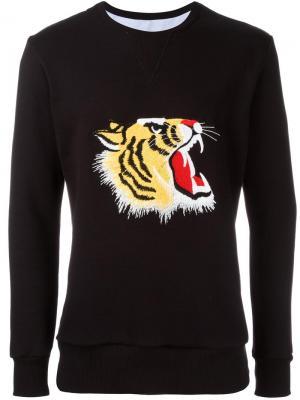 Толстовка Tiger Lc23. Цвет: чёрный