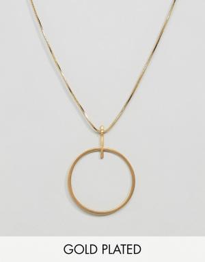 Pilgrim Ожерелье цвета розового золота. Цвет: золотой