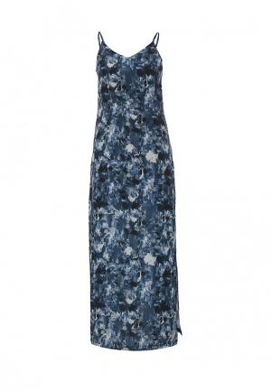 Сарафан Calvin Klein Jeans. Цвет: синий