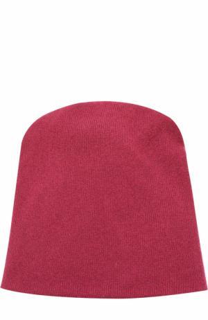 Кашемировая шапка бини TSUM Collection. Цвет: бордовый