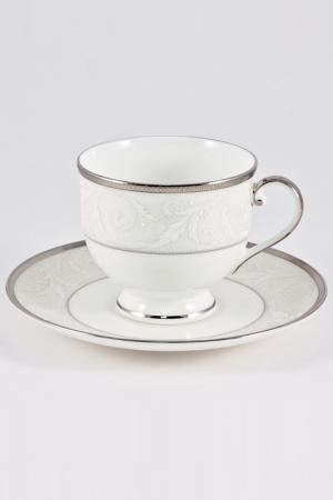 Набор чайных пар 220 мл, 6 шт. Narumi. Цвет: белый