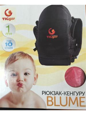 Рюкзак  для переноски детей Blumen (c козырьком) TIGger. Цвет: красный