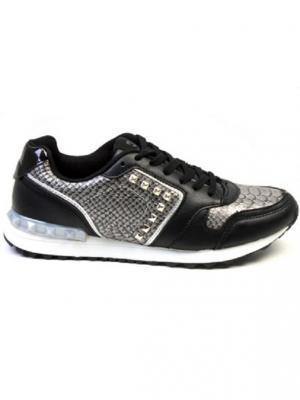 Кроссовки BASS3D. Цвет: черный, серый