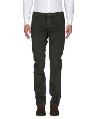 Повседневные брюки FORECAST. Цвет: темно-зеленый