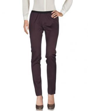 Повседневные брюки AB/SOUL. Цвет: темно-коричневый