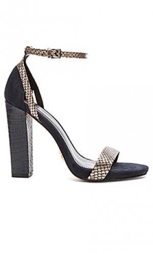 Туфли на каблуке chase Pour La Victoire. Цвет: синий