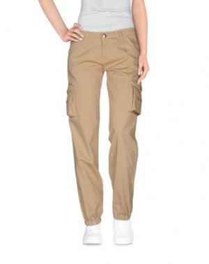 Повседневные брюки ...LOVE IS LOVE!.... Цвет: песочный
