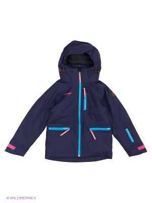 Куртка Bergans. Цвет: темно-синий, синий, розовый