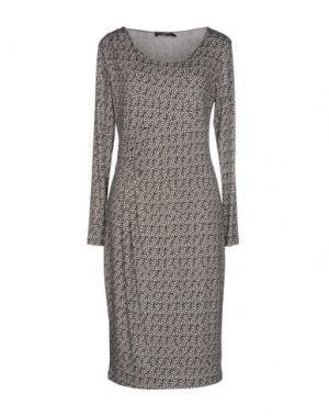 Короткое платье ALFONSO RAY. Цвет: хаки