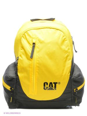 Рюкзак Caterpillar. Цвет: желтый, черный