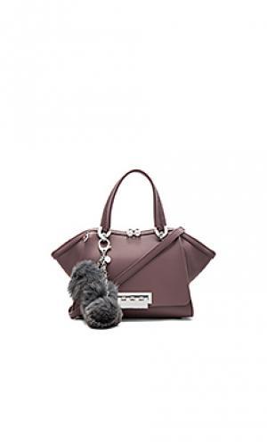 Маленькая дамская сумочка eartha Zac Posen. Цвет: красное вино