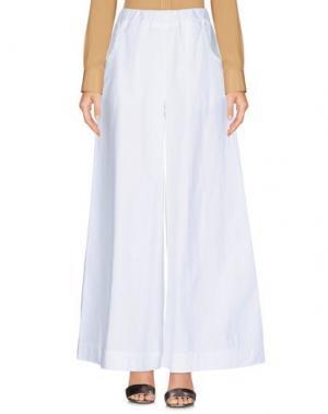 Повседневные брюки MOTEL. Цвет: белый