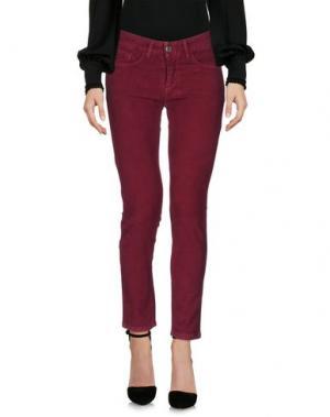 Повседневные брюки COLMAR. Цвет: пурпурный