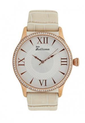 Часы Galliano. Цвет: бежевый