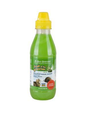 Шампунь д/любого вида шерсти Мята с витамином В6 0,5 л А1832 Iv San Bernard. Цвет: салатовый