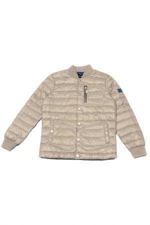 Куртка ASTON MARTIN. Цвет: серый