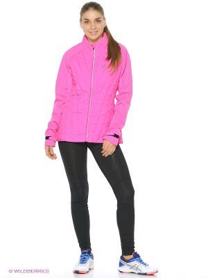 Куртка Hybrid Jacket ASICS. Цвет: розовый