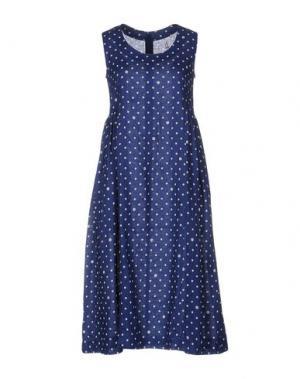 Платье до колена COMME DES GARÇONS. Цвет: синий