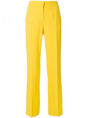 Строгие прямые брюки Nº21. Цвет: жёлтый и оранжевый