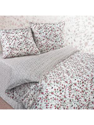 Комплект постельного белья ЕВРО Dream time. Цвет: молочный
