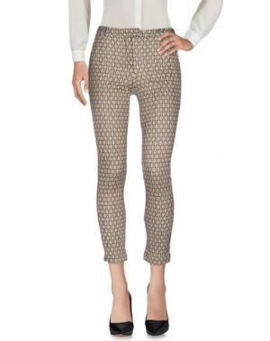 Повседневные брюки W!K!. Цвет: серый