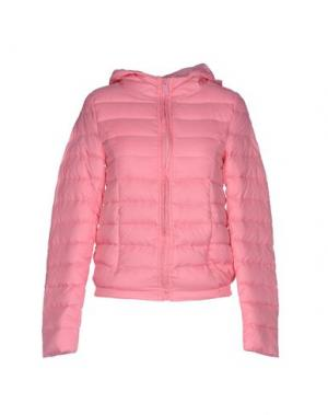 Куртка DUCK FARM. Цвет: розовый