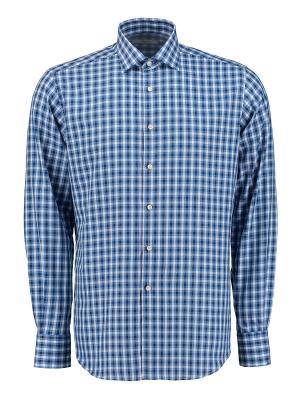 Рубашка Ingram. Цвет: синий