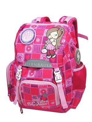 Рюкзак STERNBAUER. Цвет: розовый