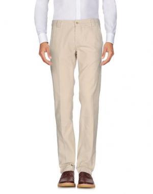 Повседневные брюки MAGLIARO. Цвет: бежевый