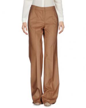 Повседневные брюки DIAMANTE. Цвет: верблюжий