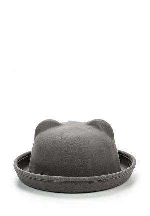 Шляпа Kawaii Factory. Цвет: серый