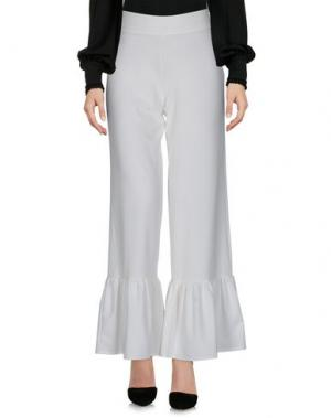 Повседневные брюки HUITDEGRÉS. Цвет: белый