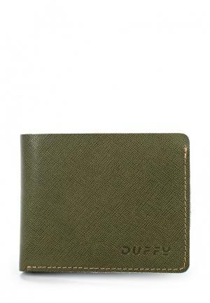Кошелек Duffy. Цвет: зеленый