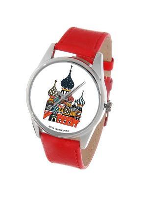 Часы Mitya Veselkov Храм в цвете. Цвет: красный