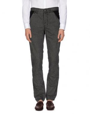 Повседневные брюки ALEXANDER WANG. Цвет: свинцово-серый