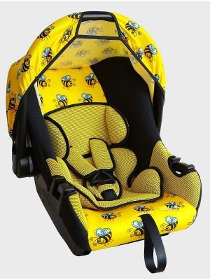 Детское автомобильное кресло ЭГИДА ЛЮКС коллекция ART SIGER. Цвет: желтый