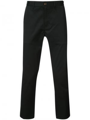 Классические брюки чинос 321. Цвет: чёрный