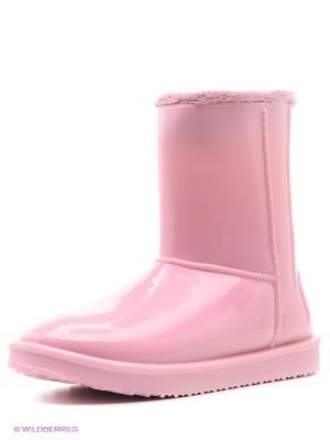 Угги BUNT. Цвет: розовый